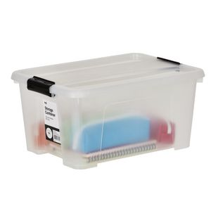Keji 15L Plastic Storage Container Clear