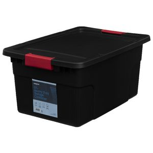 J.Burrows 57L Heavy Duty Container Black