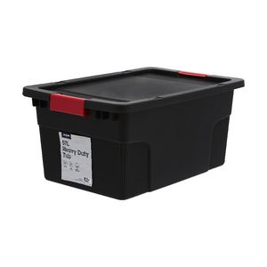 JBurrows 57L Heavy Duty Container Black Officeworks