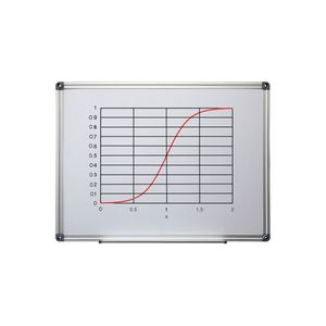 Ucomm Magnetic Whiteboard 900 x 600mm
