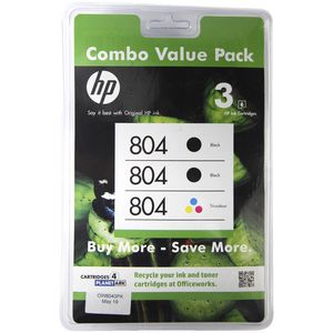 HP 804 Ink Cartridge Combo Pack