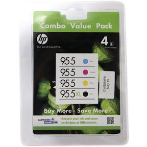 HP 955 and 955XL Ink Cartridge Combo Pack