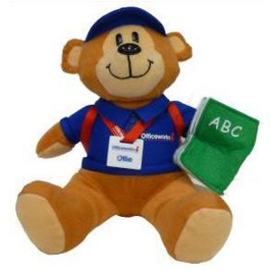 Officeworks Back to School Ollie Bear Toy