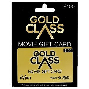 Event Cinemas Gift Card $100