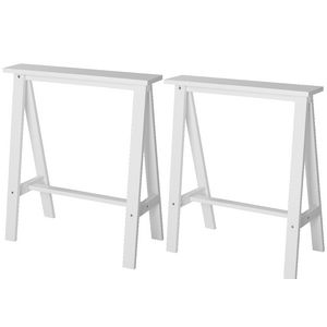 Mix and Match Trestle Legs 2 Pack White