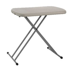 Lifetime Personal Folding Table Almond White