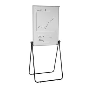ucomm portable flipchart easel board officeworks