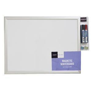 J.Burrows Magnetic Whiteboard 45 x 60cm