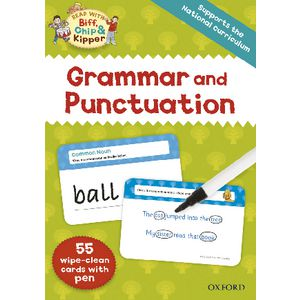 Oxford Reading Tree Grammar and Punctuation Flash Cards