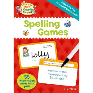 Oxford Reading Tree Spelling Games Flash Cards