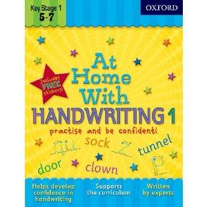 Oxford At Home With Handwriting 1 Workbook