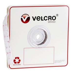 VELCRO Brand Loop Only Dots 22mm White 900 Pack