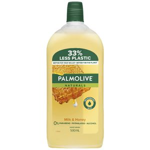 Palmolive Naturals Milk and Honey Hand Wash Refill 500mL
