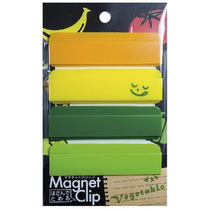 Palette Magnet Clip Vegetable 4 Pack