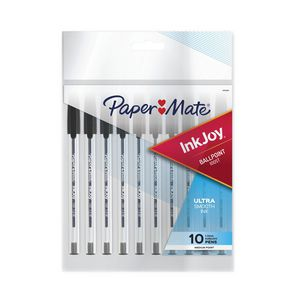PaperMate InkJoy 100 Ballpoint Pens Black 10 Pack