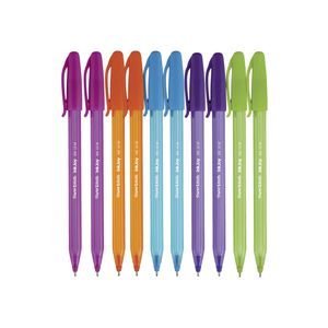 PaperMate InkJoy 100 Ballpoint Pens Fashion Assorted 10 Pack