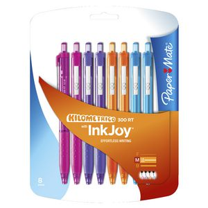 PaperMate InkJoy 300 RT Ballpoint Pens Fashion 8 Pack
