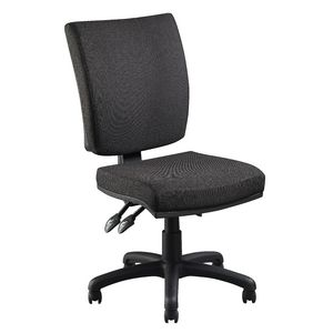 Flash Deluxe Heavy-Duty Ergonomic Chair Black