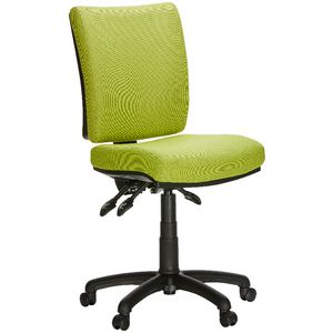 Flash Deluxe Heavy Duty Ergonomic Chair Green