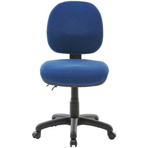 Delightful ... Matrix Medium Back 2 Lever Chair Blue