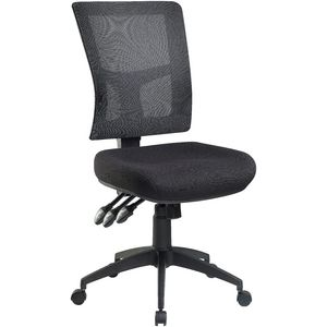 professional enduro heavy duty mesh chair black officeworks