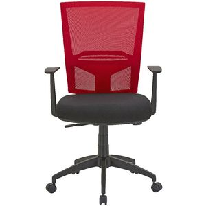 Radar Plus Synchro Heavy Duty Ergonomic Chair Red