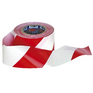 Prochoice Barricade Tape Red/White 100m x 75mm