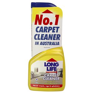 Long Life Carpet Cleaner 750mL