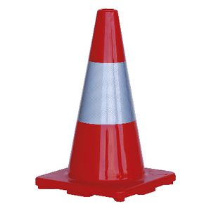 ProChoice Hi-Vis Traffic Cone with Reflective Band 450mm