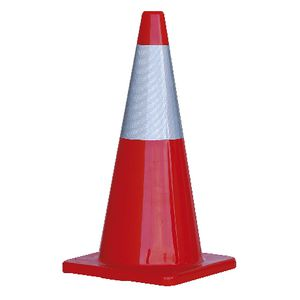 ProChoice Hi-Vis Traffic Cone with Reflective Band 700mm