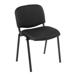 Tosca Italian Leg Stacking Chair Black
