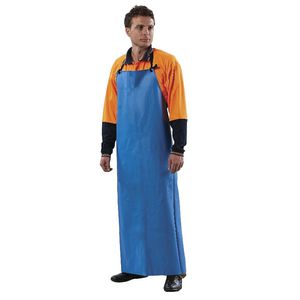 ProChoice PVC Full Length Apron Blue