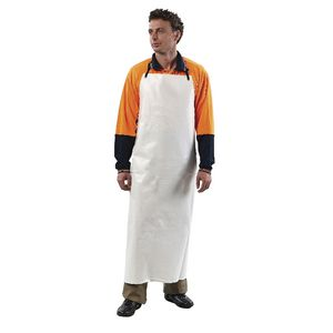 ProChoice PVC Full Length Apron White