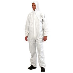 Provek Disposable Overalls L White