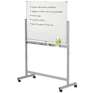 Penrite Magnetic Mobile Whiteboard 1800x1200mm