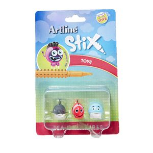 Artline Stix Sea Creature Characters 3 Pack