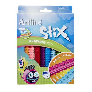 Artline Stix Drawing Pens 10 Pack