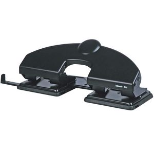 Esselte Q25 4 Hole Punch Black