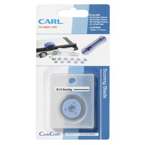 Carl B11 Replacement Trimmer Blade Scoring