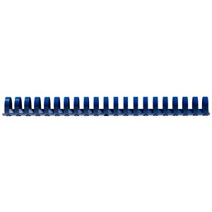 GBC Binding Comb 21 Loop Plastic 25mm Blue 50 Pack