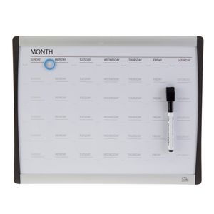 Quartet Arc Magnetic Calendar Board 280 x 360mm