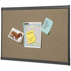 Quartet Prestige Graphite Corkboard 1800 x 1200mm