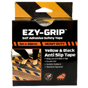 Ezgrip High Grit Tape 48mm x 5m Yellow
