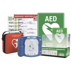 Heart Start HS1 Complete Saver Defibrillator Bundle