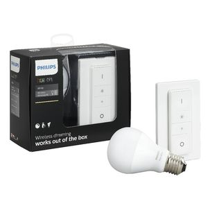 philips hue wireless dimming kit officeworks. Black Bedroom Furniture Sets. Home Design Ideas