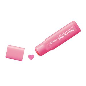 Pilot Frixion Stamps Heart Pink