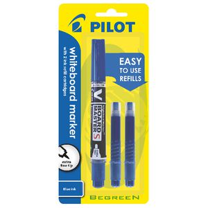 Pilot V Board Whiteboard Markers With Refills Blue