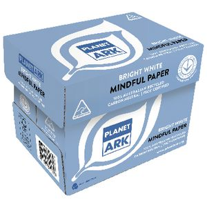 Planet Ark A4 100% Recycled Copy Paper 5 Ream Carton