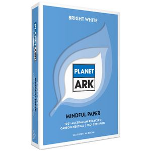 Planet Ark A4 100% Recycled Copy Paper 500 Sheet Ream
