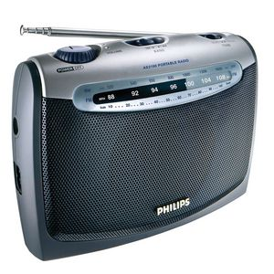 Philips Portable AM/FM Radio